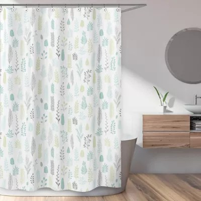 leaf shower curtain bed bath beyond