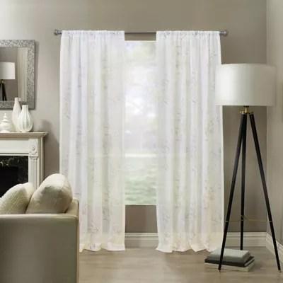 linen sheer curtains bed bath beyond