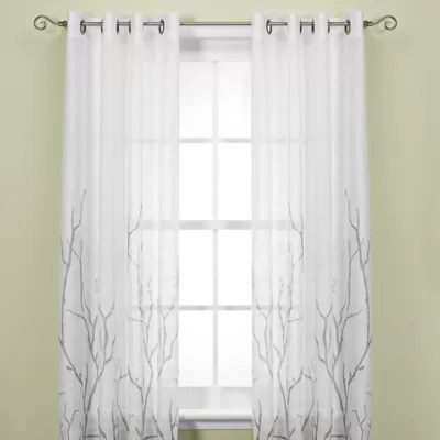 alton print grommet top window curtain
