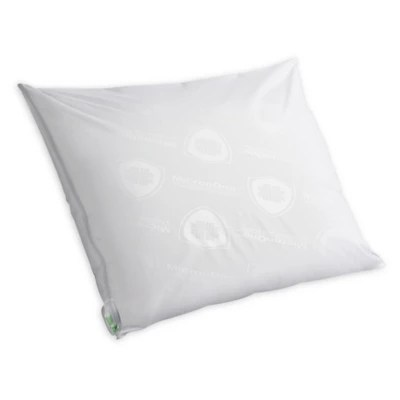 tempur pedic performance luxury cooling zippered pillow protector in white