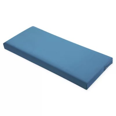 blue bench cushion bed bath beyond
