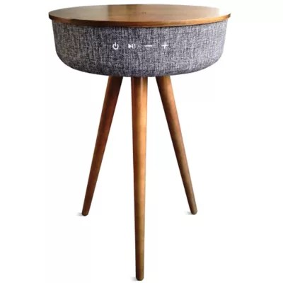 smart table with bluetooth speaker