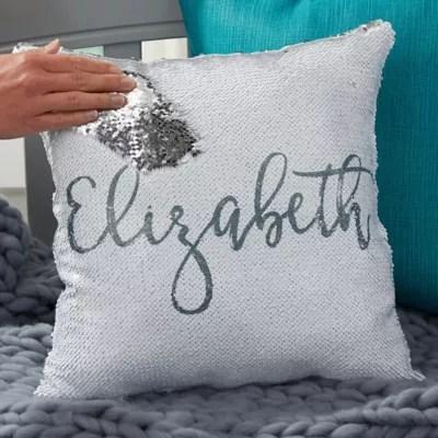 sequin pillow bed bath beyond