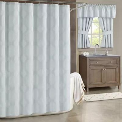 spa blue shower curtains bed bath