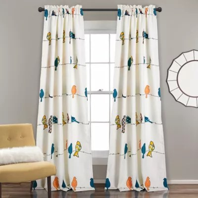 Curtains With Birds Bed Bath Amp Beyond
