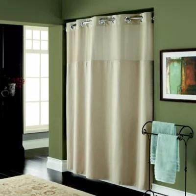brown shower curtains bed bath beyond