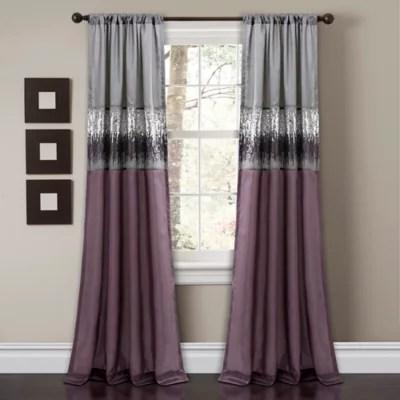 https www bedbathandbeyond com store s purple curtains