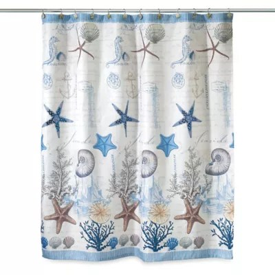 beach themed shower curtains bed bath
