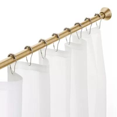 adjustable shower rods bed bath beyond