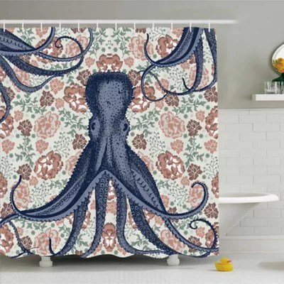 75 inch long shower curtain bed bath