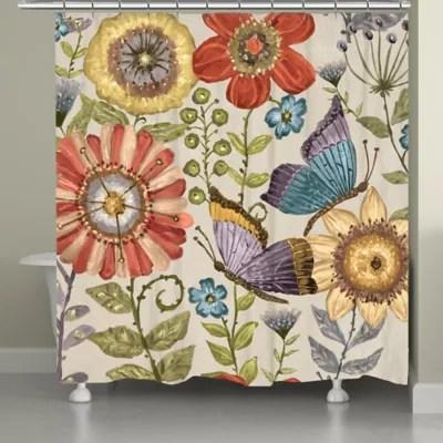 garden shower curtain bed bath beyond