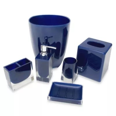 Blue Toilet Accessories