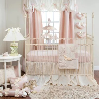 Glenna Jean Ribbons Amp Roses Crib Bedding Collection