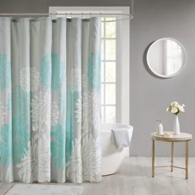 aqua shower curtains bed bath beyond