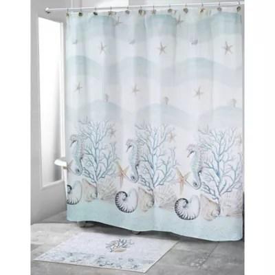 avanti coastal terrazzo shower curtain bed bath beyond
