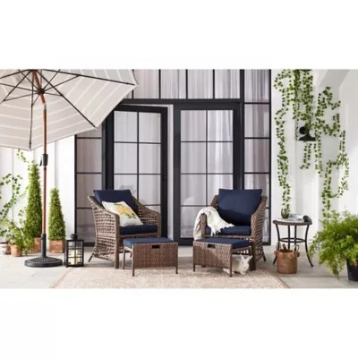 bee willow home all weather wicker patio furniture collection