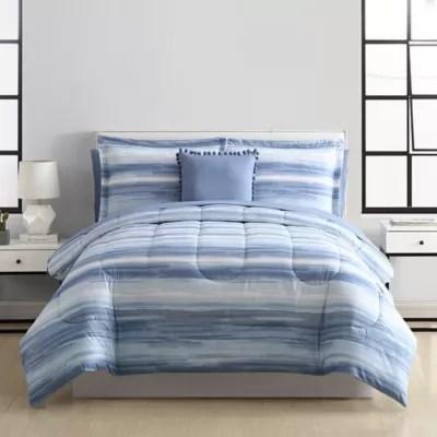 striped bedding comforter sets bed