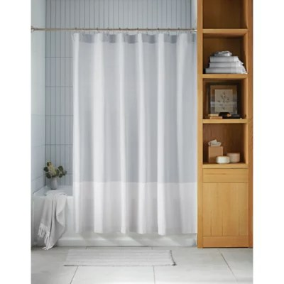 extra long shower curtain bed bath