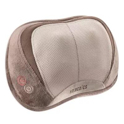 homedics 3 d shiatsu vibration massage pillow with heat