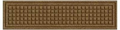 Textures 9 Inch X 35 Inch Squares Stair Tread In Camel Bed Bath | Heavy Duty Stair Carpet | Thick Heavy | Stair Treads Carpet | Double Sided | Wool Carpet | Indoor Outdoor Carpet