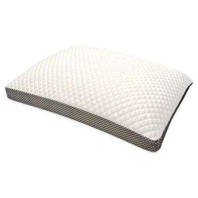 therapedic cooling memory foam side sleeper standard bed pillow