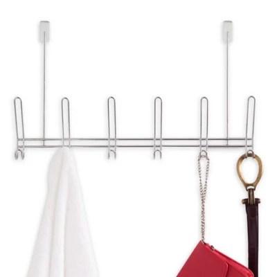 over the door hook rack bed bath beyond