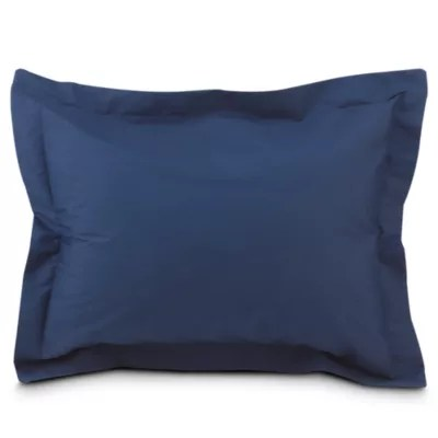 blue euro pillow shams bed bath beyond