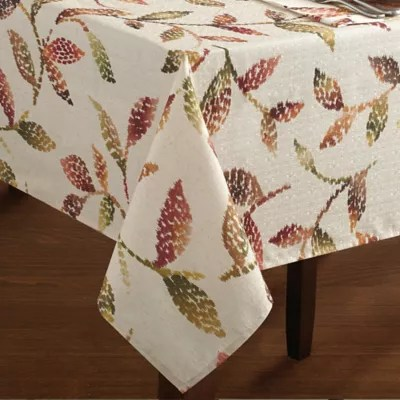 Croscill 174 Falling Leaves Tablecloth Bed Bath And Beyond Canada