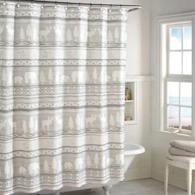 lodge shower curtain bed bath beyond