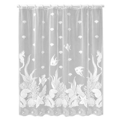 sheer shower curtains bed bath beyond
