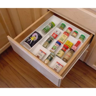 drawer organizer spice rack