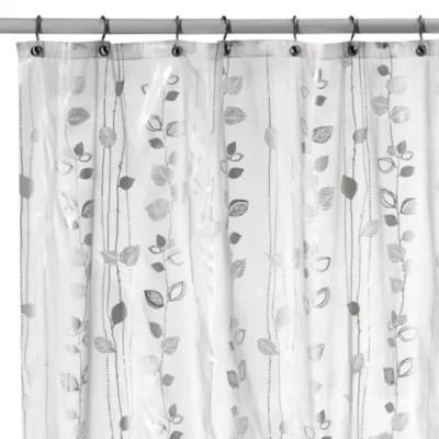 ivy silver 70 inch x 72 inch eva vinyl shower curtain bed bath beyond