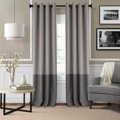 color block drapes bed bath beyond