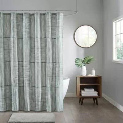 minimalist shower curtain bed bath