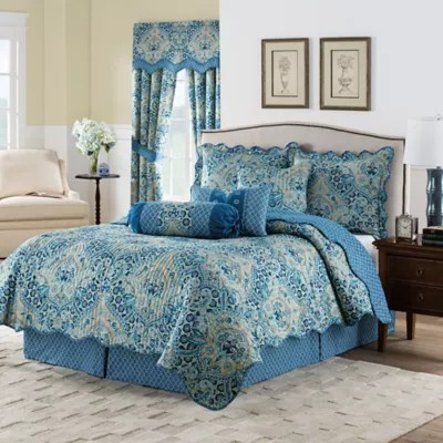 Blue Quilts Size FullQueen Bed Bath And Beyond Canada