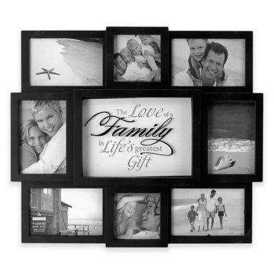 """Malden® """"The Love of Family"""" 8-Photo Collage Picture Frame ..."""