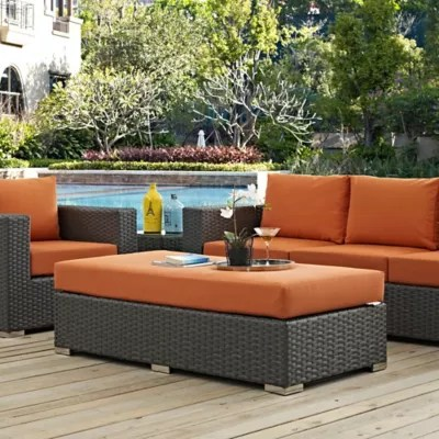 modway sojourn outdoor furniture collection in sunbrella canvas