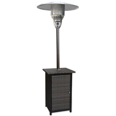 hanover square wicker propane patio heater