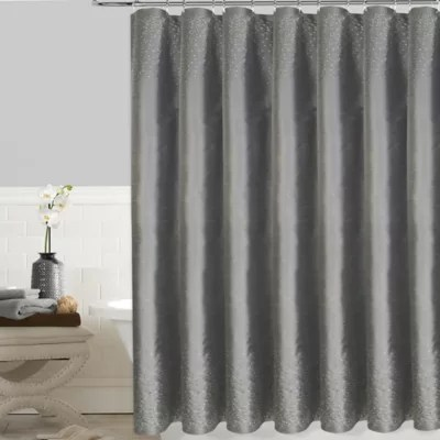 twilight 72 inch x 72 inch shower curtain in white