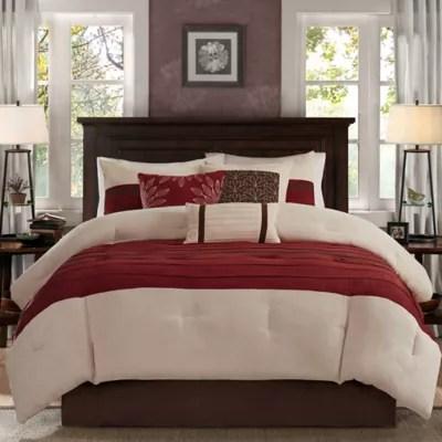 red comforter sets bed bath beyond