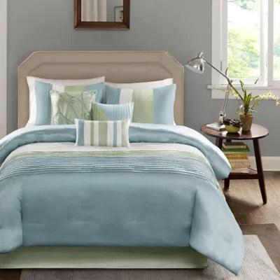 green comforter sets bed bath beyond