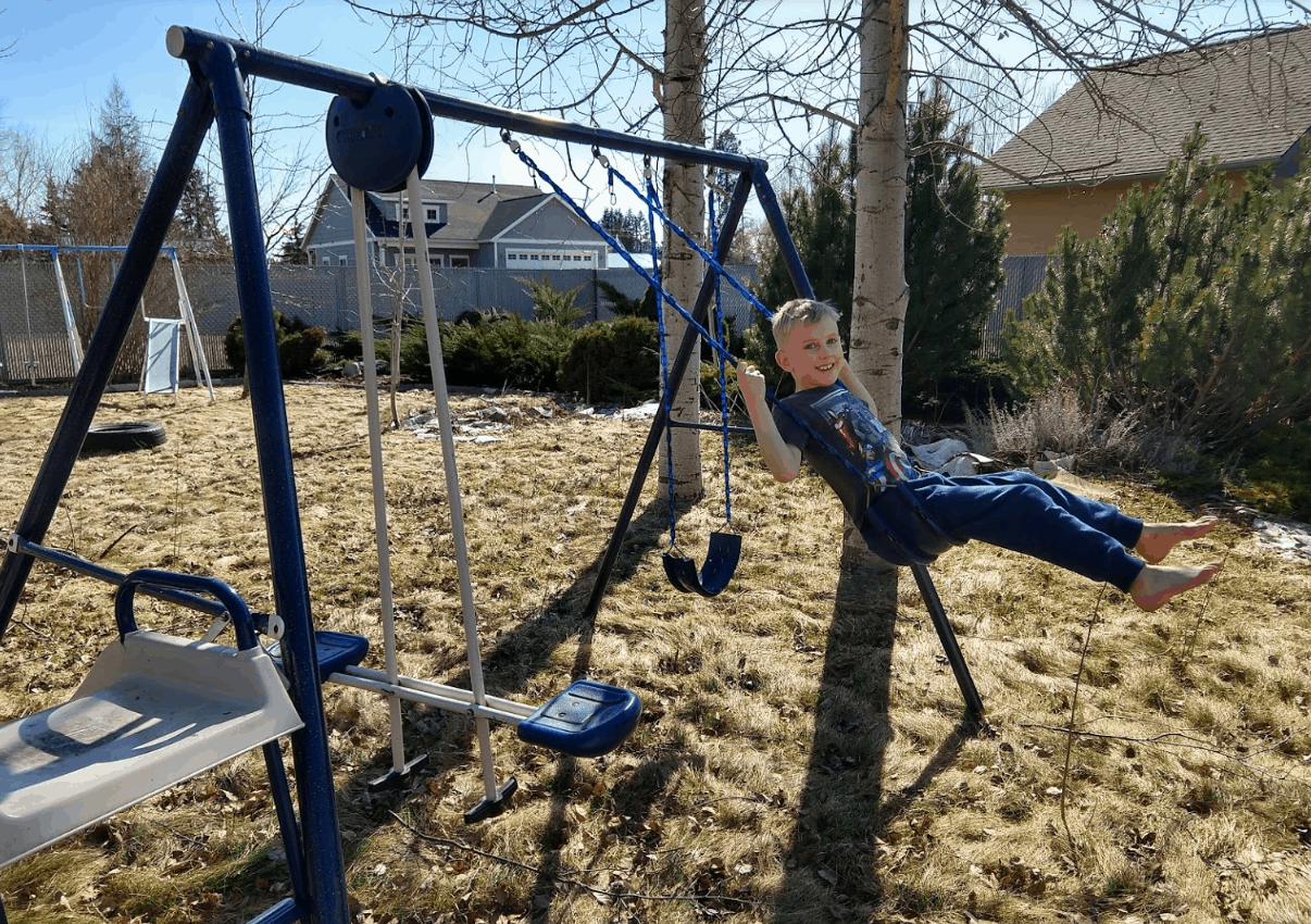 Eli on Swing