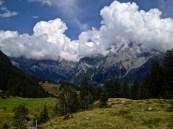 Walking in some hills. Switzerland.