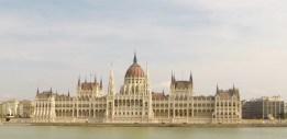 Parliament buildings Budapest, Hungary.
