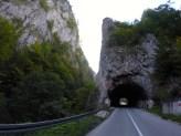 Mountain roads in Bosnia.