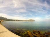 The bay at Orikum.