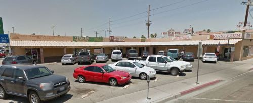 Built as the Zurcher Bros Drive-In Market, this is line 240 in the dataset. Currently subdivided into a number of businesses for Hispanic professionals (notary public, accountant, etc).
