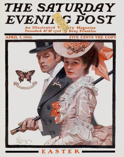 April 7 1907 cover of the Saturday Evening Post