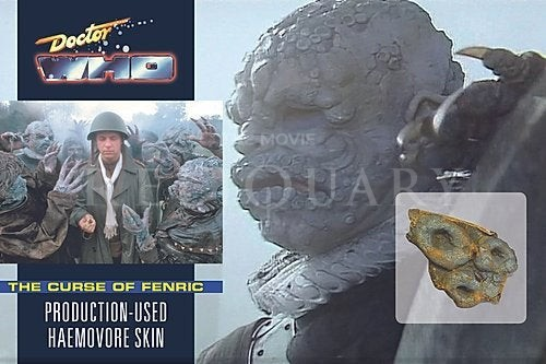 LARGE DISPLAY - DOCTOR WHO - HAEMOVORE SKIN FROM THE CURSE OF FENRIC