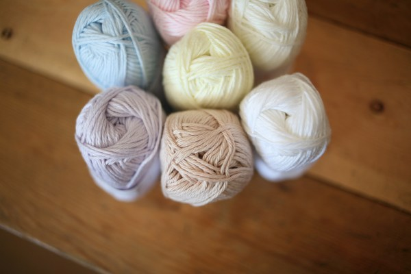 A great new 'dishcloth style' cotton - good for so many things other than dishcloths!